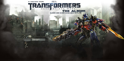 Transformers 3 Dark of The Moon Muziek