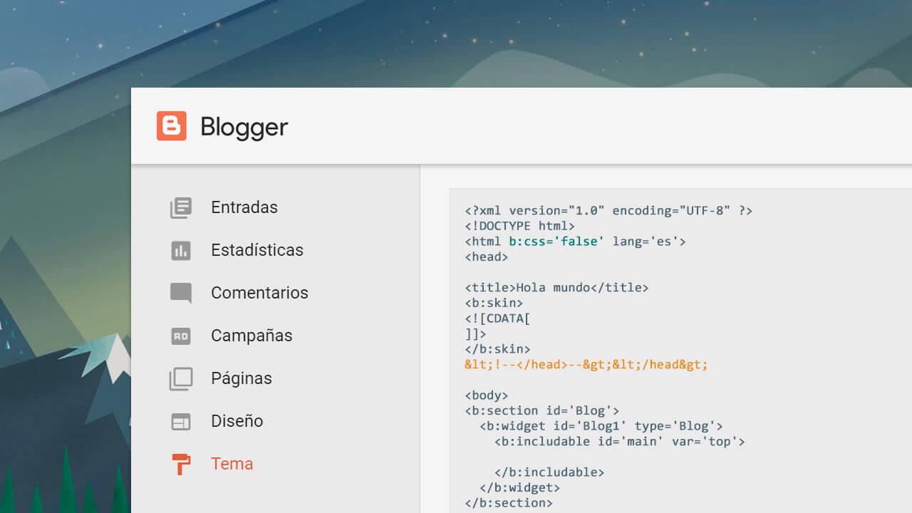 eliminar por completo css javascript blogger
