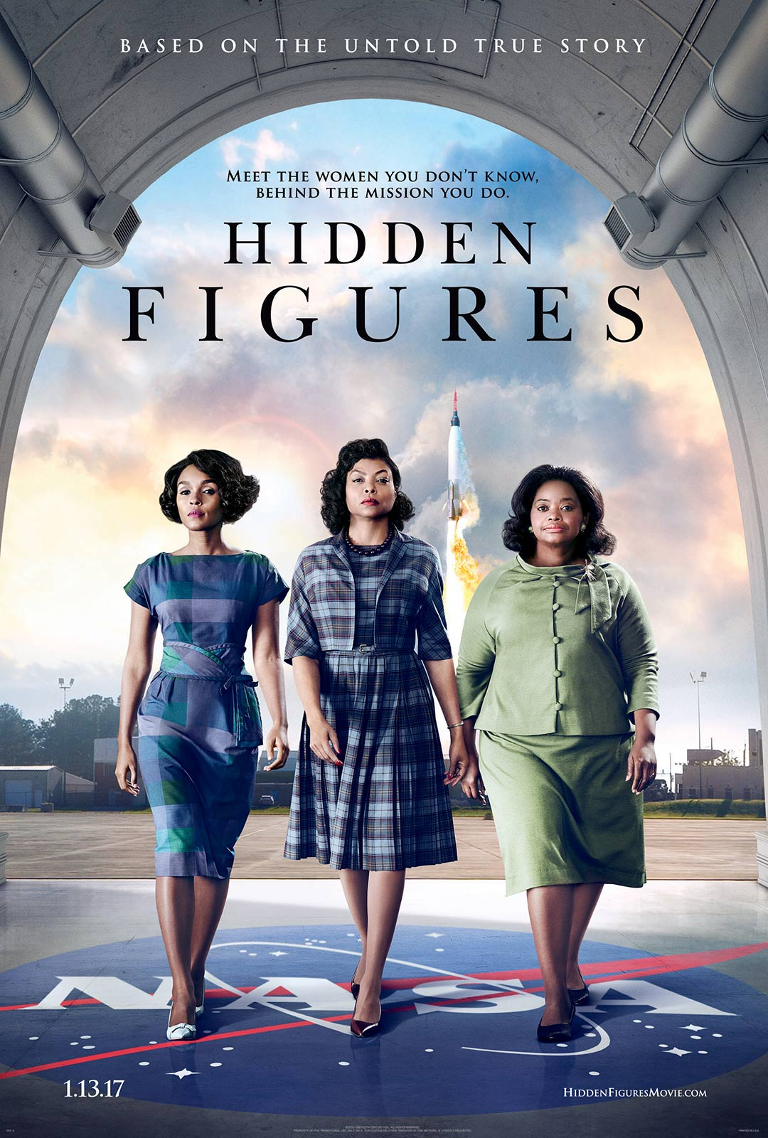 Hidden Figures – HD 720p