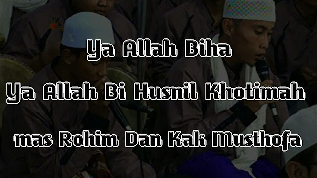 teks lengkap syiir khusnul khatimah