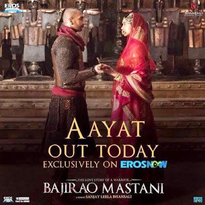 Aayat (Tujhe Yaad Kar Liya) - Bajirao Mastani (2015)