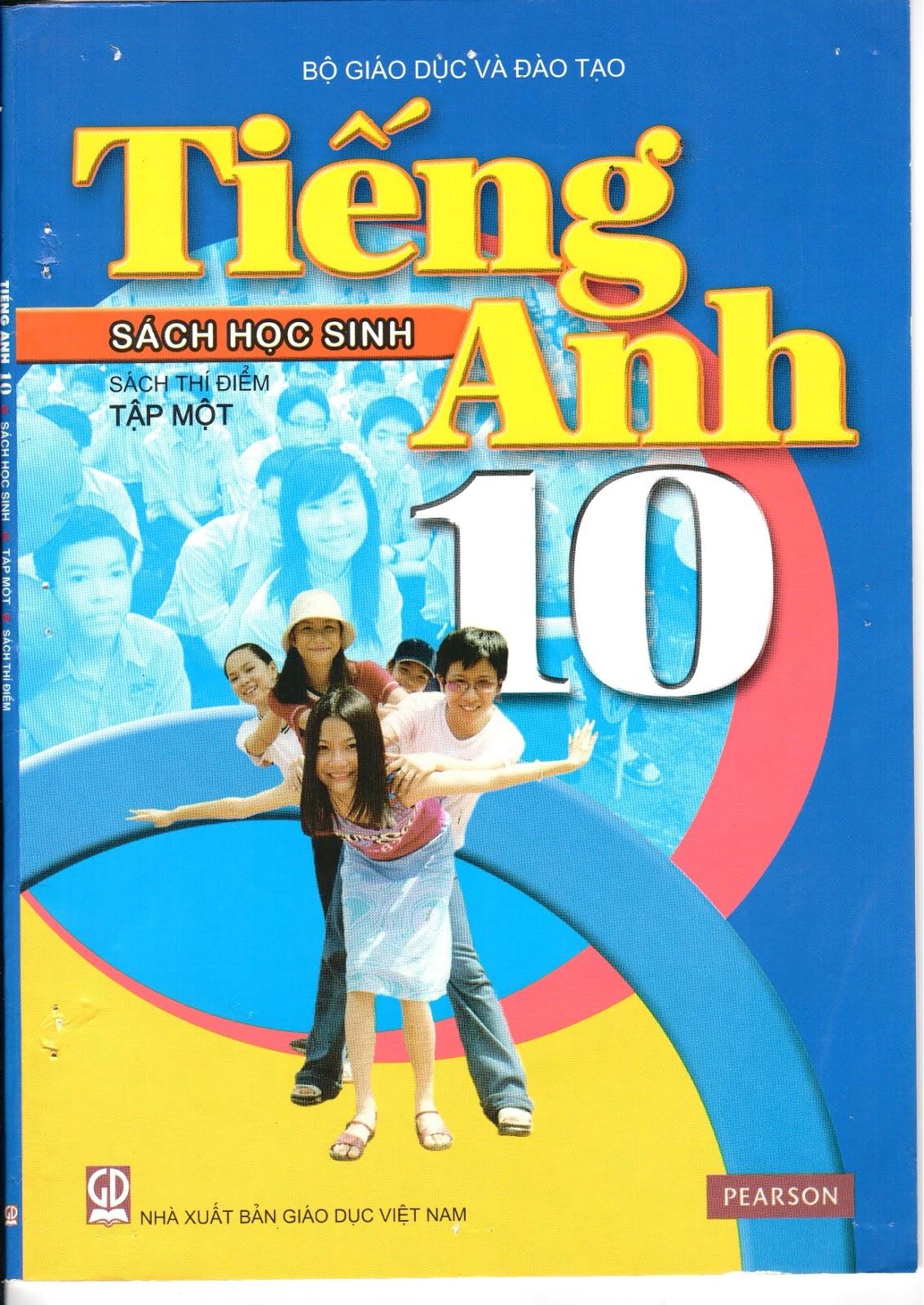 Sách học sinh Tiếng Anh 10 (Tập 1)
