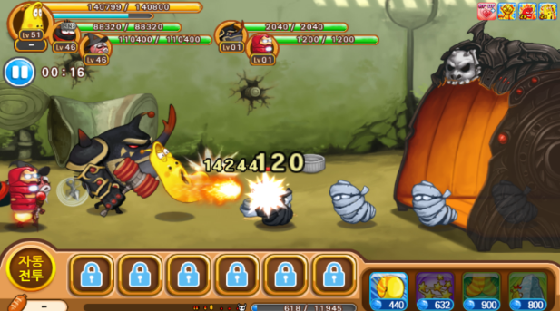 Download Larva Heroes Episode2 MOD APK 1.5.6 Free Shopping ...