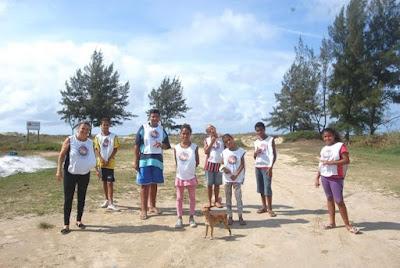 Projeto CAP , conscientização e respeito pela natureza na Ilha Comprida