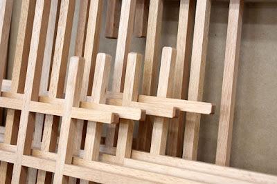 Kumiko frames