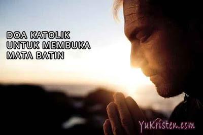 doa katolik untuk membuka mata batin