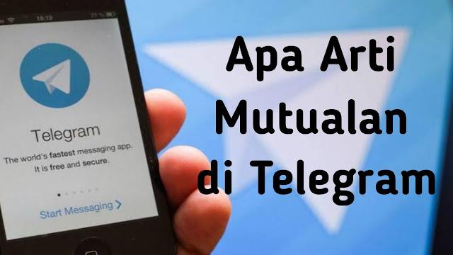 Apa Arti Mutualan di Telegram