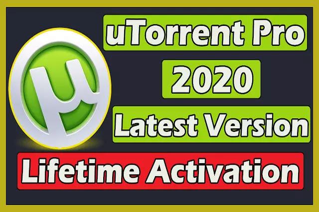 uTorrent Pro Latest Version With Lifetime Activation