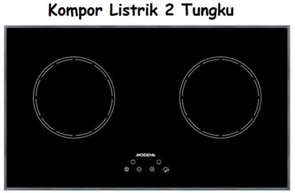 Kompor Listrik 2 Tungku