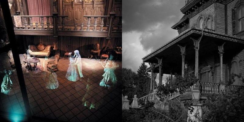 Le manoir hanté de Disneyland Paris