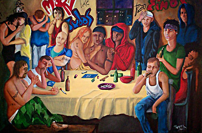 The Last Supper by Dan Perez