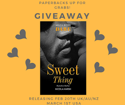 GIVEAWAY: upcoming release SWEET THING