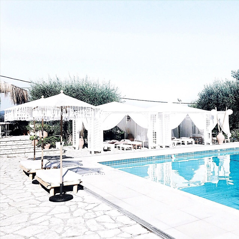 best Corfu island hotels with a pool in Dassia