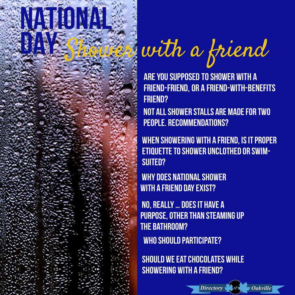 National Shower with a Friend Day Wishes Awesome Picture