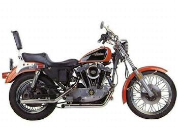 Harley Davidson XLH 1000 Sportster Average Mileage (1971) - Per Liter, Kmpl & More