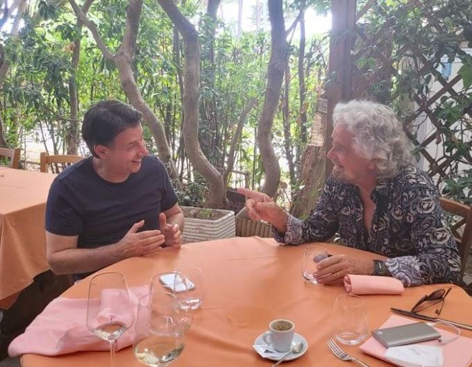 M5s: 'pace fatta' Grillo - Conte dopo faccia a faccia