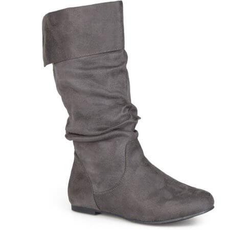 Walmart Brinley Co women's slouch boots]
