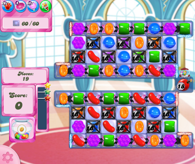Candy Crush Saga level 2650
