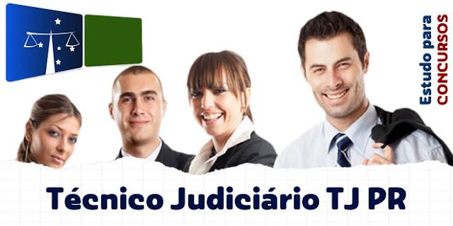 apostila técnico judiciário tj pr 2017