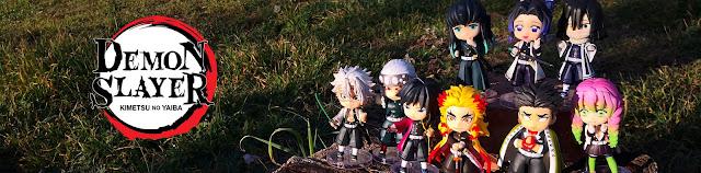 Review de las Figuarts Mini Hashira de Kimetsu no Yaiba - Tamashii Nations