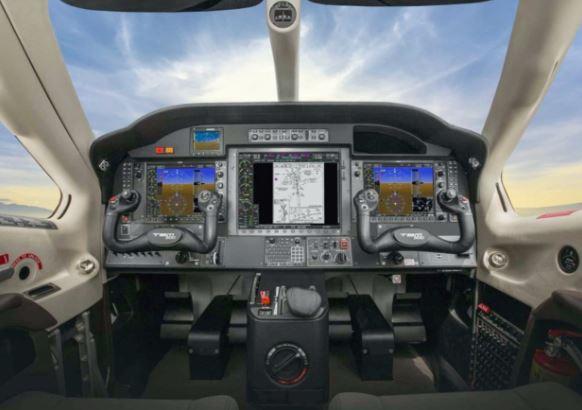 Daher TBM 900 cockpit