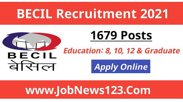 BECIL Recruitment 2021: