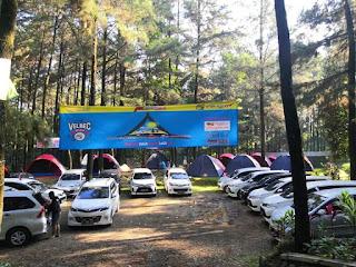 Memperingati Anniversary dan Kemerdekaan HUT RI, Velozity Bekasi adakan mini touring dan camping ceria