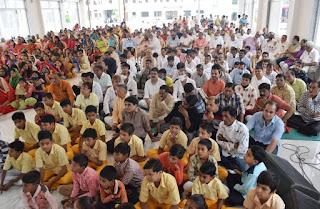 श्री मोहनखेड़ा महातीर्थ में चातुर्मास हेतु मुनि पीयूशचन्द्रविजयजी म.सा. मुनिमण्डल व साध्वीवृंद का हुआ मंगल प्रवेष
