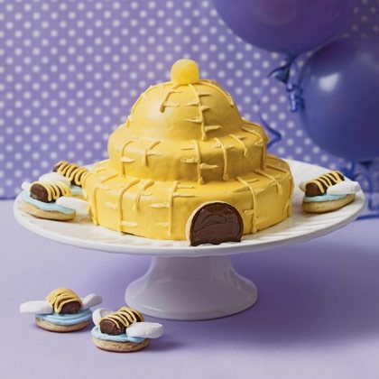 Sweet Beehive Cake Recipe