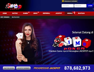 IMOPOKER adalah agen poker terbaik di Indonesia 2019