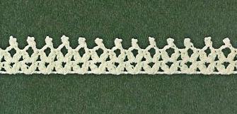 Patrón #1845: Encaje a Crochet