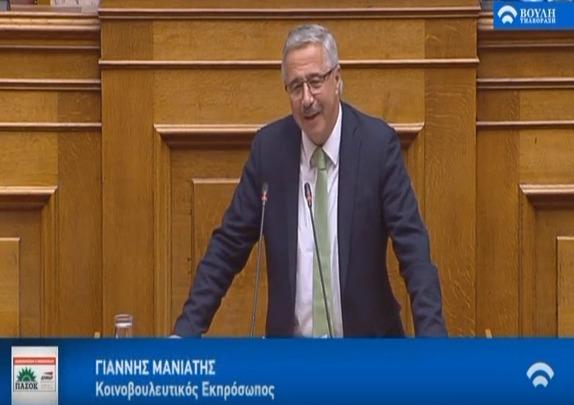 Γ. Μανιάτης: Ζήτημα δικαιοσύνης και δημοκρατίας τα σκάνδαλα των ΣΥΡΙΖΑΝΕΛ για ΔΕΗ και ΔΕΠΑ