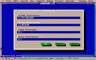 How to Set Directories in Turbo C++ Compiler