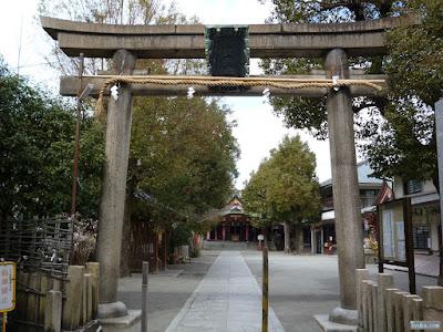 神津神社鳥居