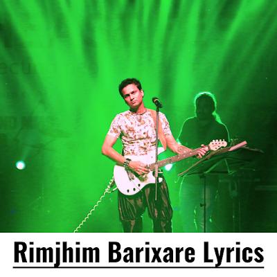 Rimjhim Barixare Lyrics