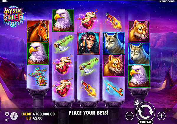 Main Gratis Slot Indonesia - Mystic Chief Pragmatic Play