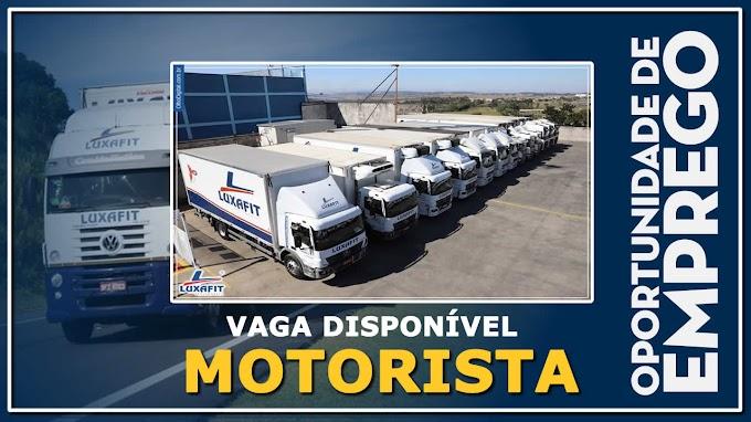 Luxafit Transportes abre vagas para Motorista Truck e Carreteiro