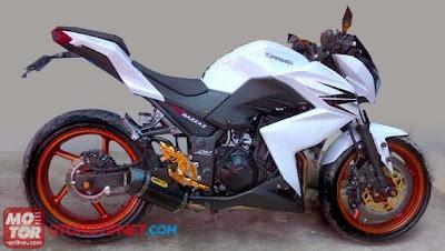Foto Modifikasi Motor Kawasaki Z250