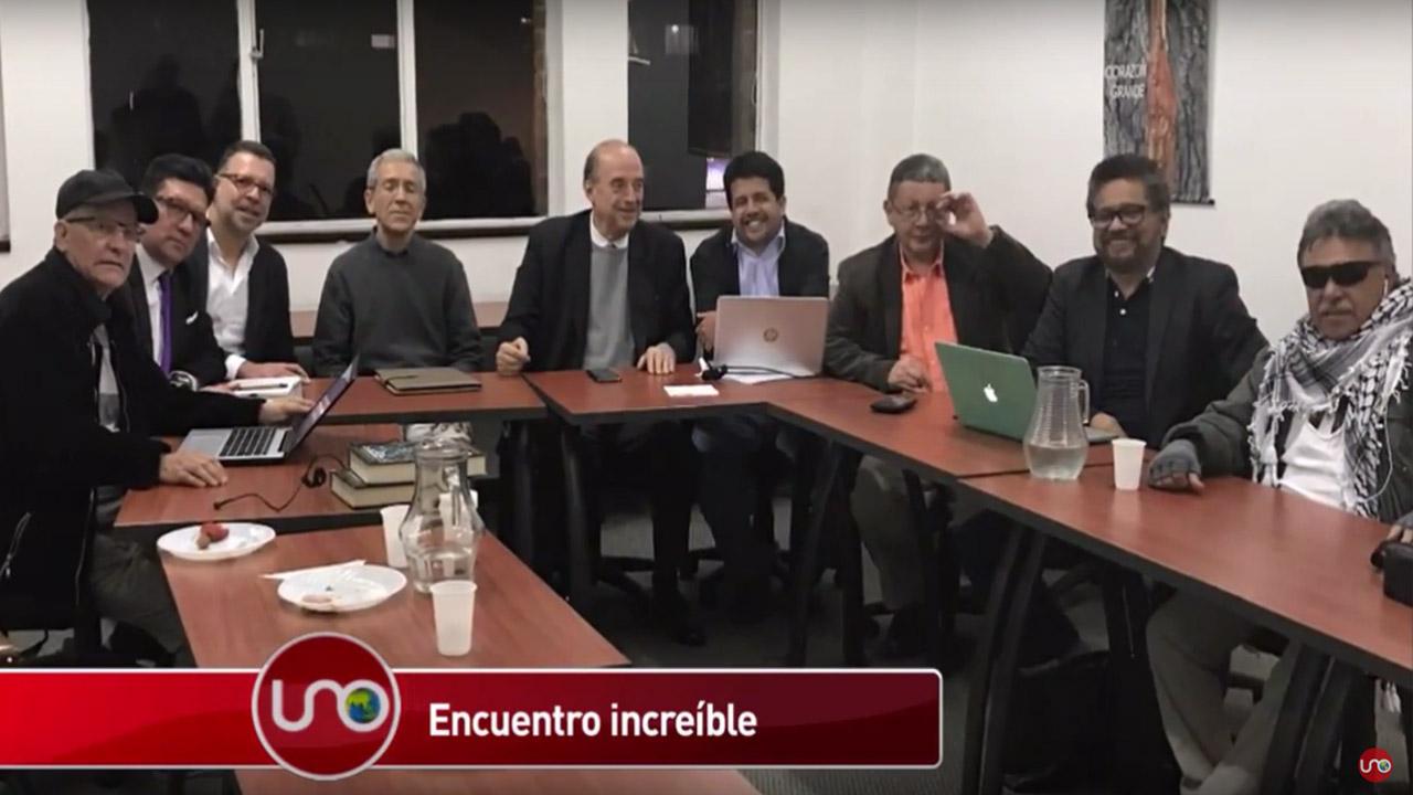 Exlíderes de la guerrilla y los paramilitares se reunieron en Bogotá