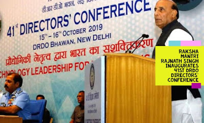 Raksha Mantri Rajnath Singh inaugurates 41st DRDO Directors' Conference