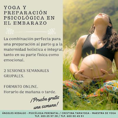 Curso preparación embarazo yoga y psicología
