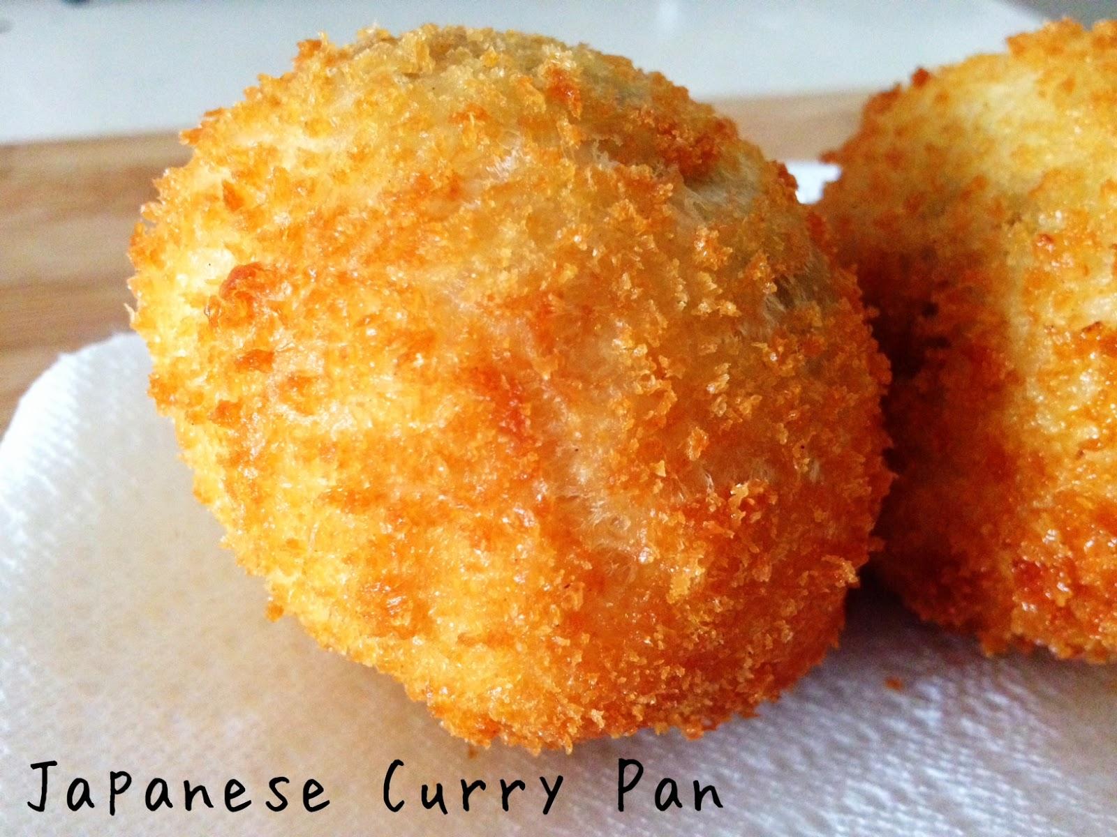 Wholly Vegan: VeganMoFo Day 7: Japanese Curry Pan