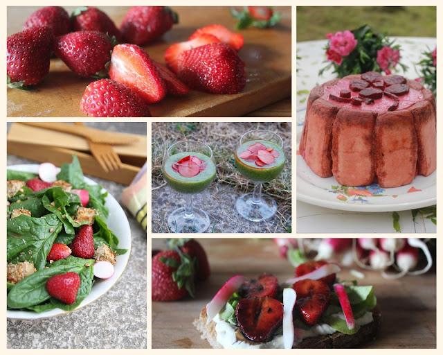 Cuillère et saladier : sélection de recettes de printemps