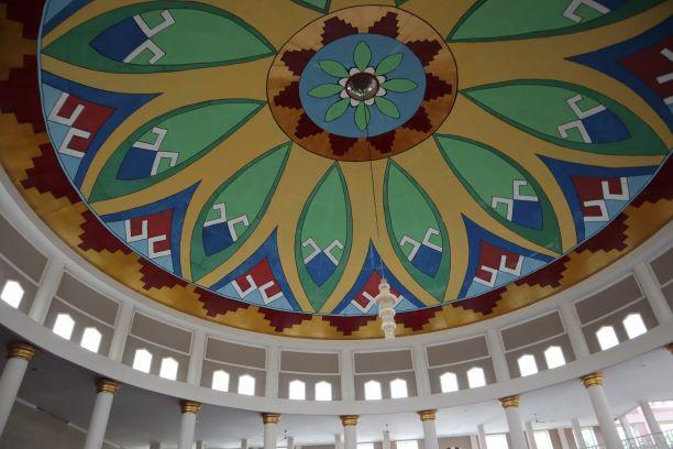 Indahnya Kubah Masjid Taqwa Metro