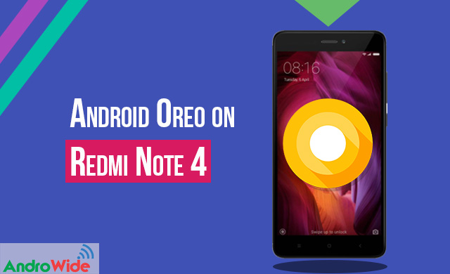 how to flash android 8.0 oreo on redmi note 4