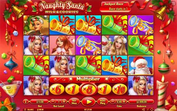 Main Gratis Slot Indonesia - Naughty Santa Habanero