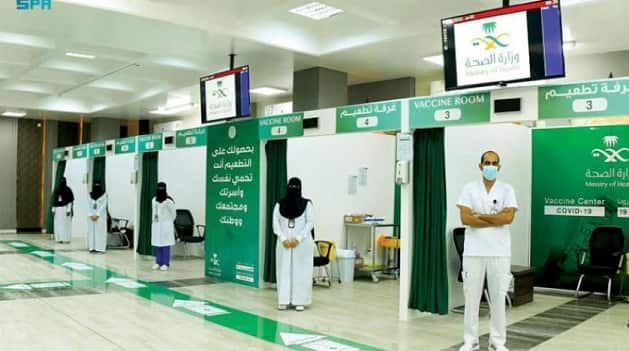 Ministry of Health vaccinates 98% of its Health Practitioners - Saudi-Expatriates.com