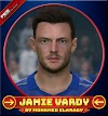 Jamie Vardy لاعب فريق ليستر سيتي - PES 2017