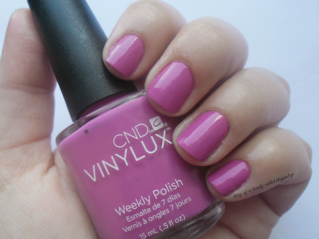 CND Vinylux Weekly Nail Polish Crushed Rose #188