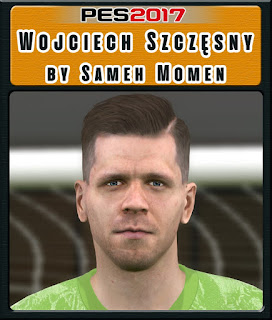 PES 2017 Faces Wojciech Szczęsny by Sameh Momen